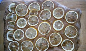 Zitronenfladenbrot 1