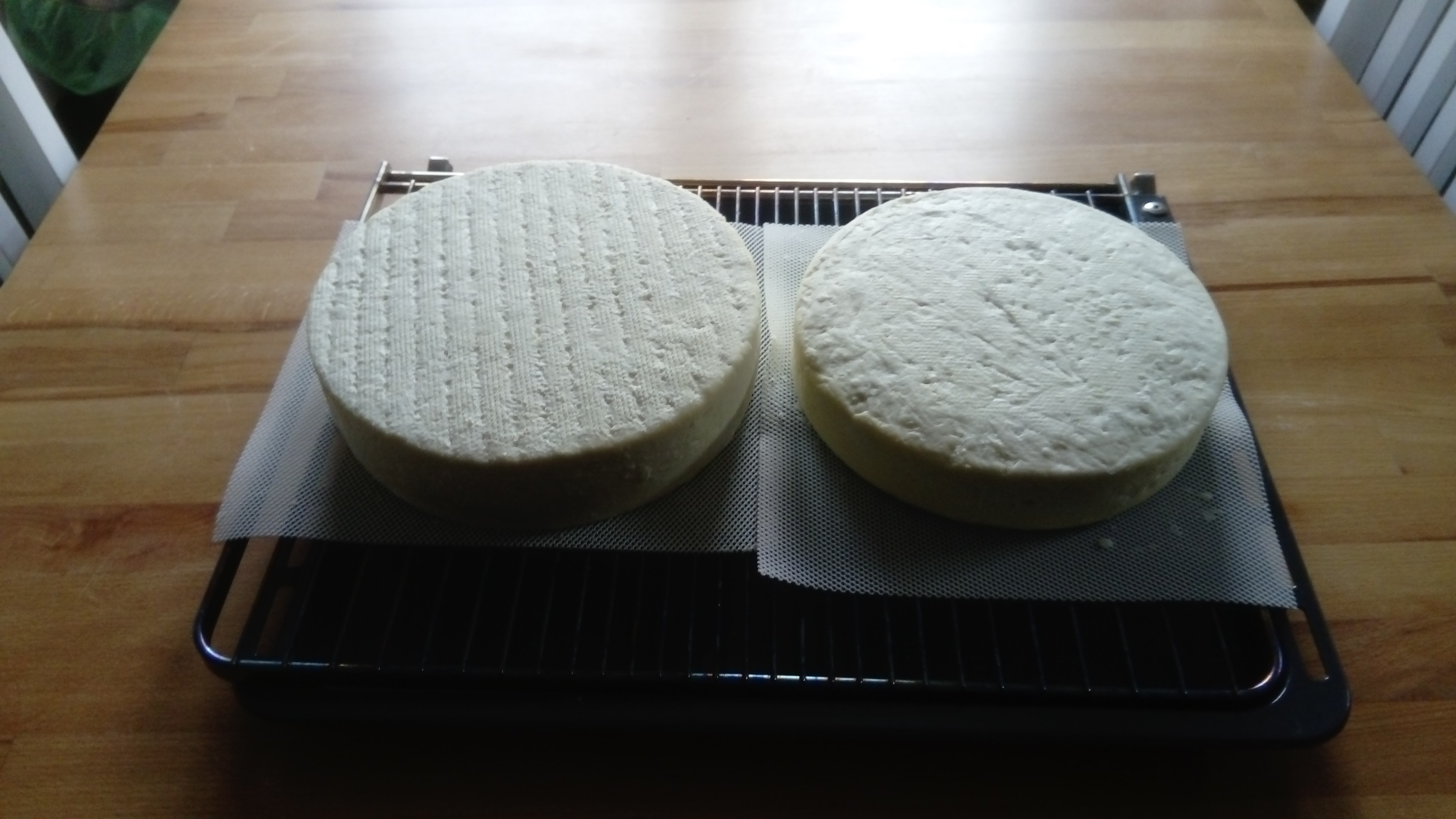 Büffelmilch-Schnittkäse